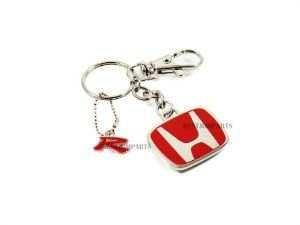 Rare Genuine JDM Honda Type R Red H Key Chain 2 door 4 door by Honda. $17.50. Collectors' item, discontinued from Honda Sports Accessories HC series. we are fortunate to get a handful of these and offering them at half price, limited supply. Rare GENUINE JDM Honda Type R Red H Key Chain - this is the absolute must have accessory for the Honda/Acura owners. Displaying the true color of Honda's Type R series shows your dedication to Honda power! Extremely high quality as expected f...