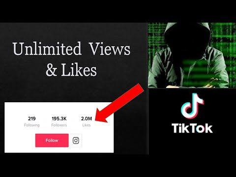 Tiktok Tricks Tik Tok Hacks How To Get Unlimited Views And Likes On Tiktok Youtube Free Facebook Likes How To Get Followers Get More Followers