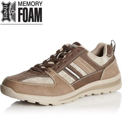 Do you have one of these shoes?  Memory Foam Lace-up #CasualShoes, #Foam, #Footwear, #Lace, #Male, #Memory, #Rivers, #Up http://www.fashion4shoes.com.au/shop/rivers/memory-foam-lace-up/