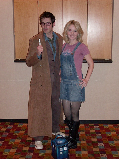 078 Doctor Who, Rose Tyler by dragoncon (2006 - 2009), via Flickr. Halloween maybe,
