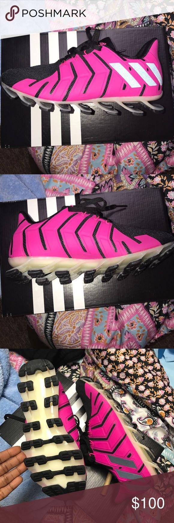 Cheapest E2efb Cd870 Adidas Springblade Pro Pink Golf Pure 360 Gripmore Mens Shoes Biru B03739
