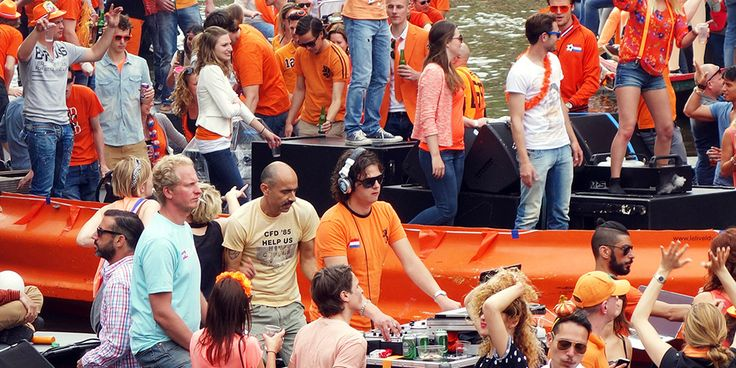 Amsterdam King's Day photo