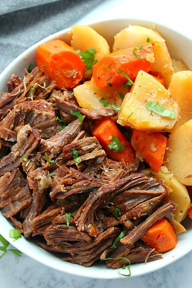 Instant Pot Pot Roast Recipe The Best Pot Roast Cooked In The Instant Pot Pressure Cooker Pot Roast Recipes Instant Pot Dinner Recipes Instant Pot Pot Roast