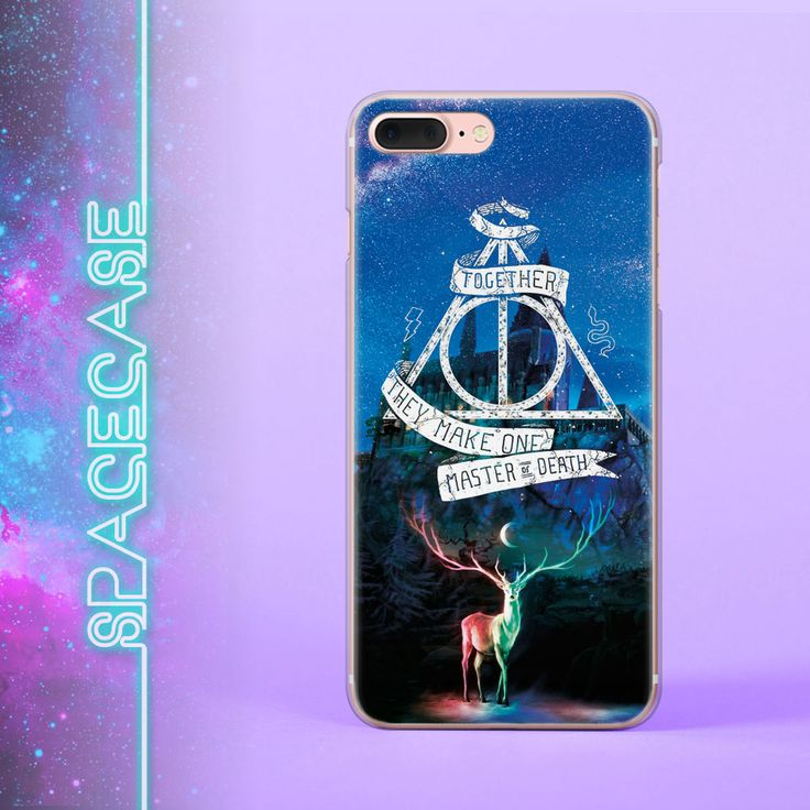 Harry Potter iPhone 7 Case Hogwarts iPhone 6 Case Deer iPhone 5 5S SE Case Deathly Hallows iPhone Clear 7 Plus Case iPhone 4 Case 6S Case Harry Potter Universe Master of Death