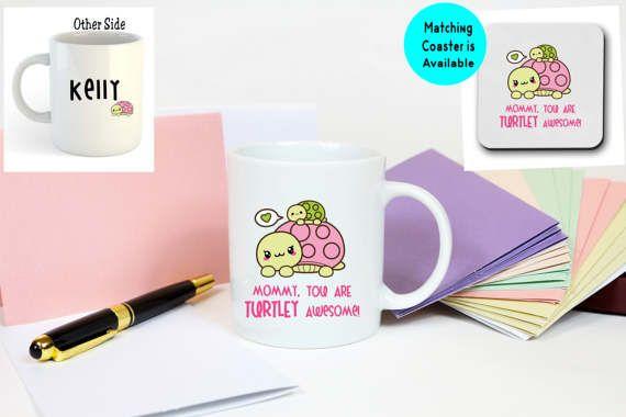 kawaii mug cup, turtle mug cup, custom coffee mug, personalized mug, personalized coffee mug, coffee mug printing, cute coffee mug 111