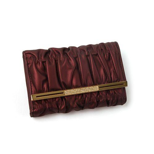 [Crimson medium wallet]
