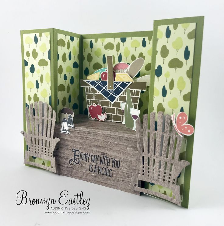 Hi there.  Welcome to another instalment of projects that I made for a Display Board at On Stage in Melbourne.  Today I'm featuring the stamp set, Picnic with You.  It has some rather cute, p…