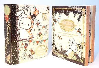 Kawaii-SENTIMENTAL-CIRCUS-Japan-mini-book-STICKY-notes-memo-pad-stationery-DIY