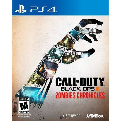 Call Of Duty Black Ops III   Zombie Chronicles - Ps4