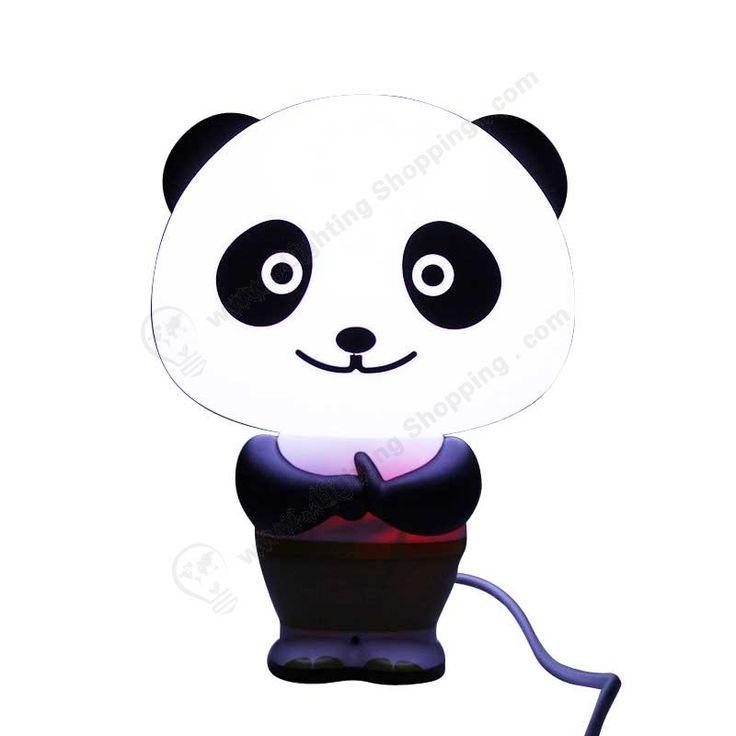 Novelty Led Table Lamp, Voice Control, Alarm Clock, Panda Cartoon,110V/220V Input - See more at: http://www.lightingshopping.com/novelty-led-table-lamp-voice-control-alarm-clock-panda-cartoon-110v-220v-input.html