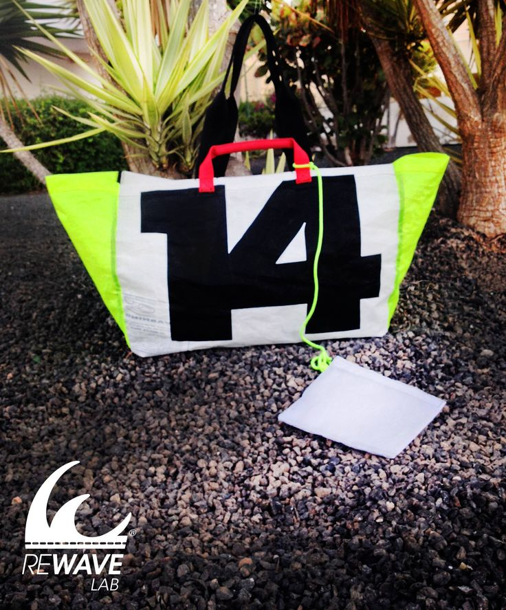 LAJARES - Lightweight and super durable shopping bag - #Rewave_lab #handbag #kitesail #recycled #upcycled #accessories #bags #fashion #kite #surf #style