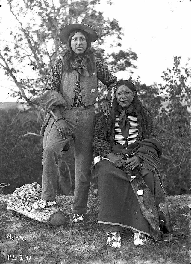 Sioux men. South Dakota. Late 1890s. Photo by Jesse Hastings Bratley.