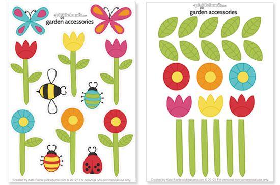 bloemen thema tuin