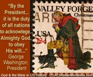 "God in US History...""It is the duty of all nations to acknowledge the providence of Almighty God, to obey His will, to be grateful for His benefits, and humbly to implore His protection and favor.""- George Washington"