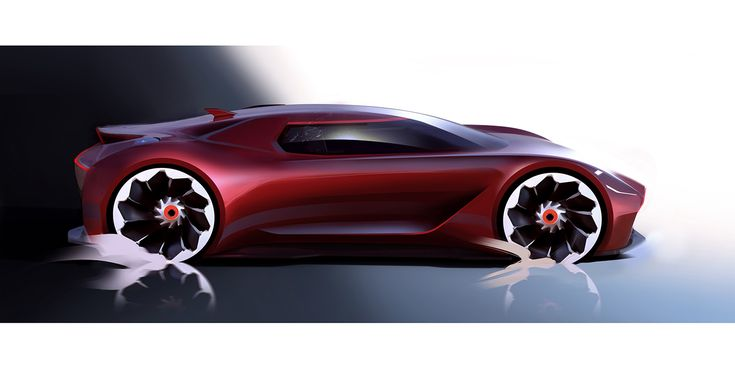 Check out these cool renderings of a futuristic mid-engined Aston Martin.