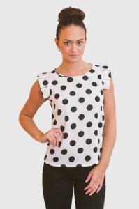 Minnie's Dot Top : Hardt Boutique