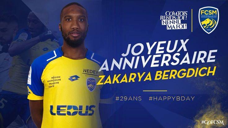 🦁FC Sochaux-Montbéliard🇫🇷  🦁FC SOCHAUX GREEK FANS🇬🇷 #CLUBSOCHAUX 🦁#ANNIVERSAIRE 🎉🎂  🎉🎂 On souhaite tous un joyeux anniversaire à Zakarya Bergdich qui fête aujourd'hui ses 2⃣9⃣ ans ! #HappyBday #GoFCSM
