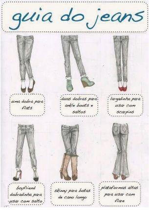 Dica de moda: guia de barras de acordo com o tipo de sapato