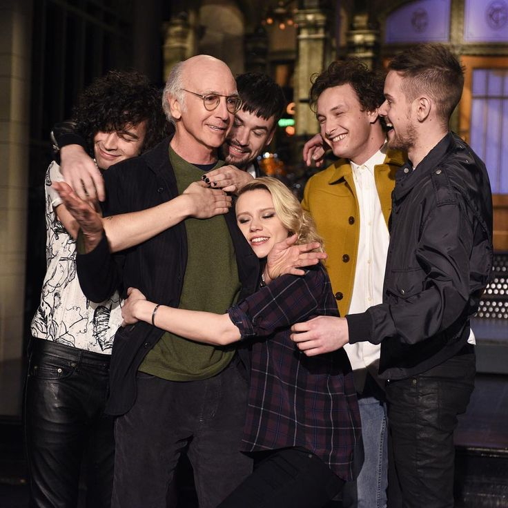 """"""""""" nbcsnl: Only two days until Larry David and @the1975! #SNL """" """""""