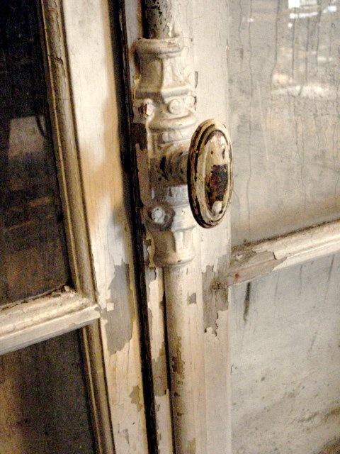 door knob on primitive cabinet - Vintage Door Knobs
