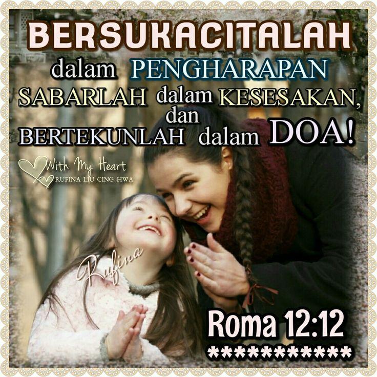 With  My Heart 🌼 💖🌼. .. ~ '°ºO•🌸•✿.Ƹ̵̡Ӝ̵̨̄Ʒ SELAMAT SIANG  Ƹ̵̡Ӝ̵̨̄Ʒ.✿🌸•Oº°' ~  Roma 12:12 (TB)  Bersukacitalah dalam pengharapan, sabarlah dalam kesesakan, dan bertekunlah dalam doa!