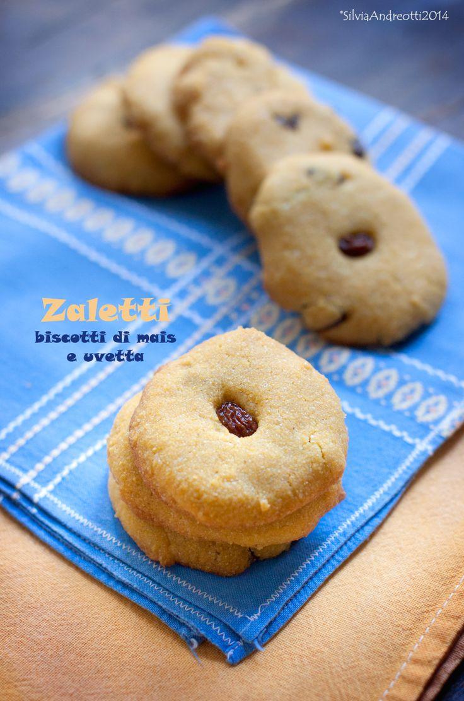 zaletti i tradizionali biscotti di mais e uvetta in versione vegan e gluten-free