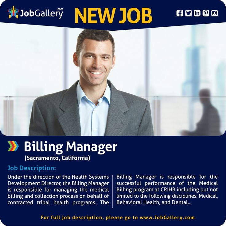 seeking a billing manager sacramento ca jobs jobopening management healthcare medical collection jobs - Medical Collection Jobs