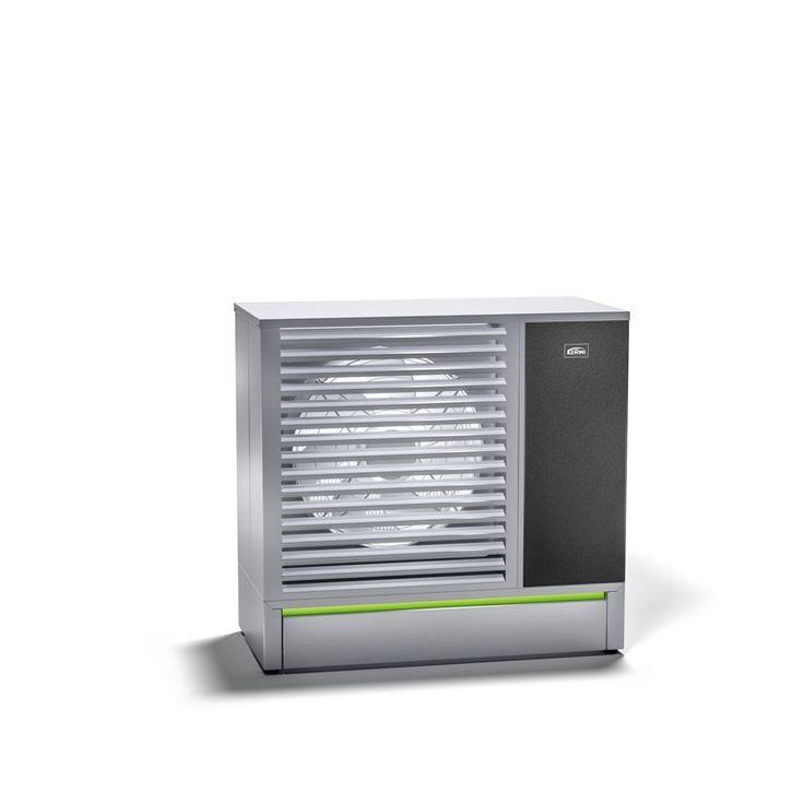x-change compact Luft/Wasser-Wärmepumpe Außenaufstellung - entzieht der Umgebungsluft thermische Energie und wandelt sie in Heizungswärme um.