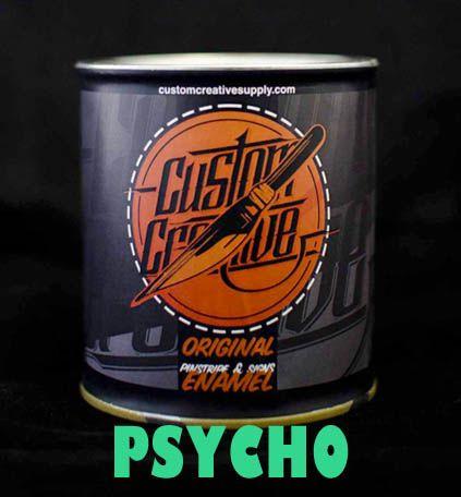 """Esmalte o Enamel  """"Psycho"""" para pinstriping y scrolling de Custom Creative. 125ml."""