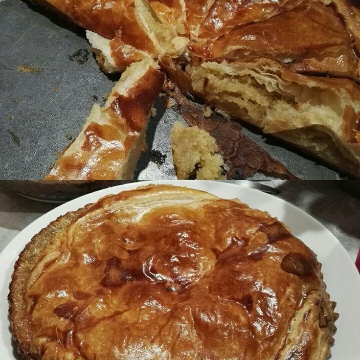 Ciasto mocno migdałowe