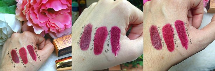 Pupa Paris Experience - Swatches rossetto I'm Lipstick 002 Berry Violet