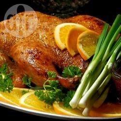 Peking Ente - Ich mach diese Ente jedes Jahr am 2. Weihnachtsfeiertag und sie schmeckt einfach fantastisch. Dazu schmeckt Plaumenmus oder andere Fruchtsauce sehr gut. @ de.allrecipes.com
