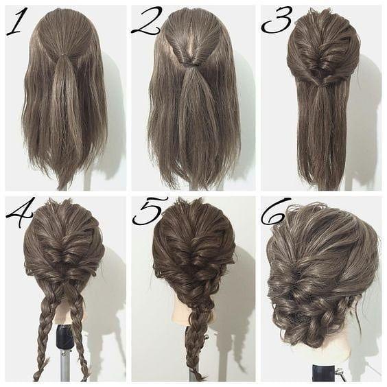 Make Your Own Hair Bun | – Bilgi Avı #Style #casamento #düğün #gelinsaçı #…