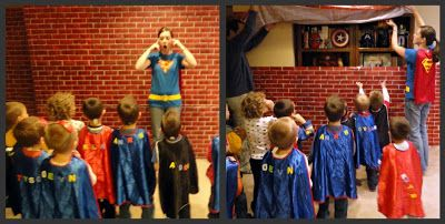 Superhero Squad Party Activities - A Little Tipsy