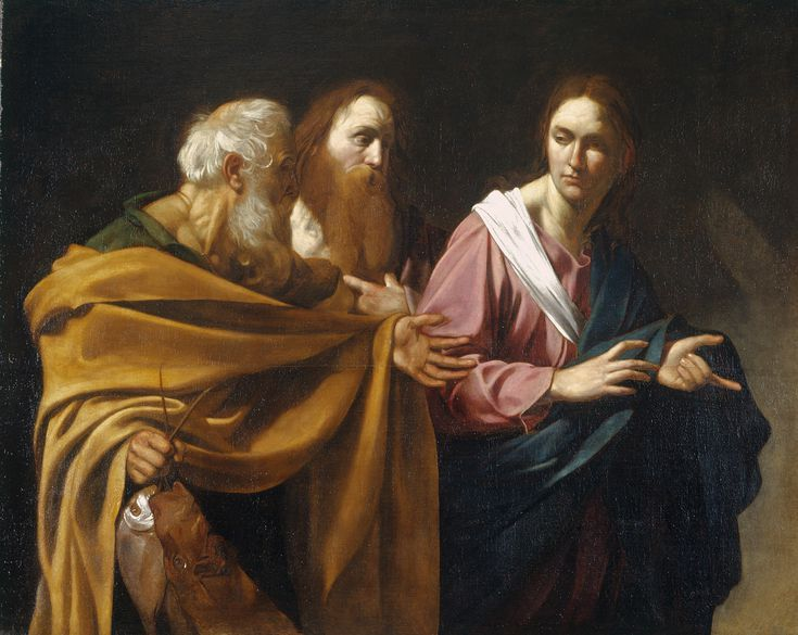 The Art of Italy in the Royal Collection - The Baroque: The Calling of Saints Peter and Andrew, ca. 1602-04