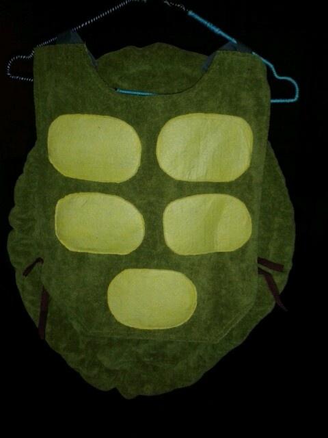 Schildpad verkleedpak