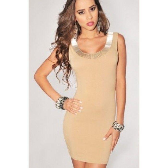 Μόκα-ασημί εντυπωσιακό φόρεμα http://pgfashion.gr/index.php?route=product/product&path=61&product_id=337