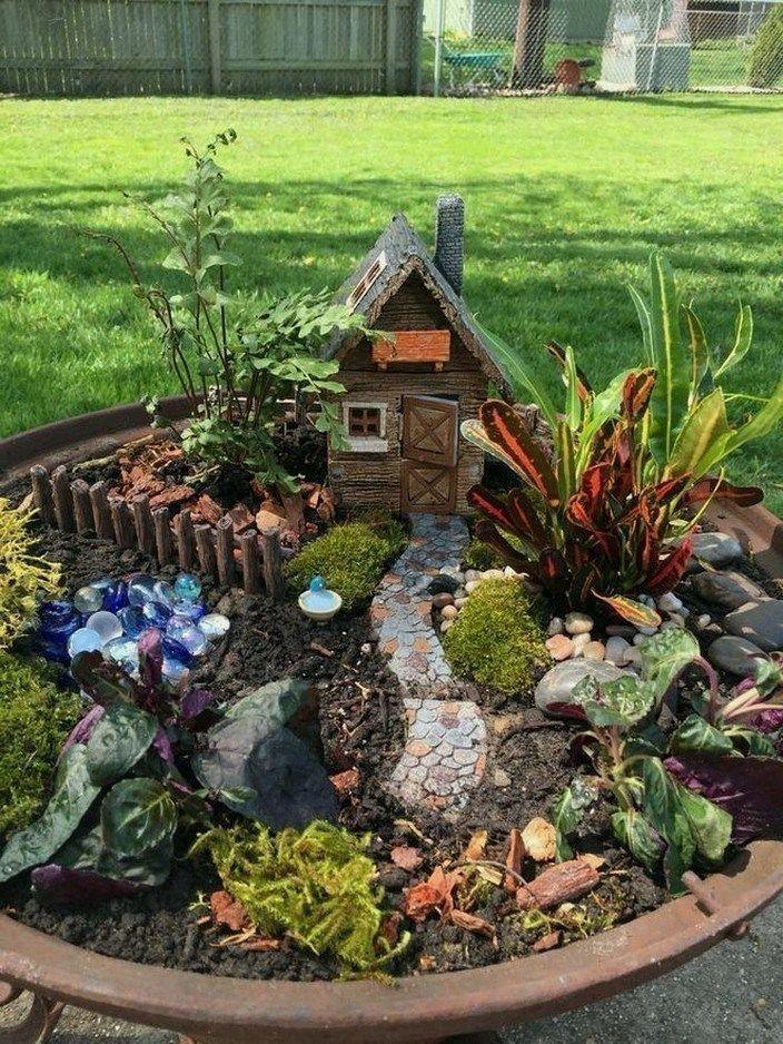 20 Inspiring Gnome Garden And Fairy Garden Design Ideas To Copy Right Now Decorating Ideas Ho In 2020 Indoor Fairy Gardens Fairy Garden Houses Fairy Garden Plants