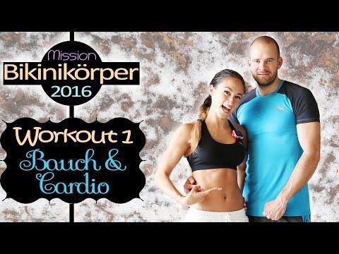 Bauch Beine Po Training für Zuhause - 20 Min Workout für Anfänger - Ohne Springen - Knieprobleme - YouTube