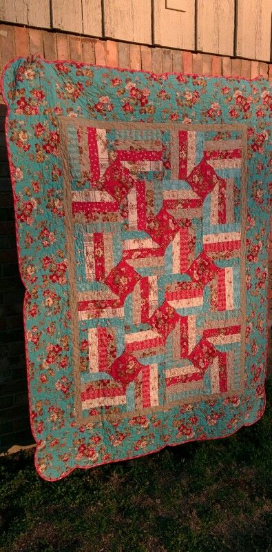 54 Best Images About 10 Minute Block Quilts On Pinterest