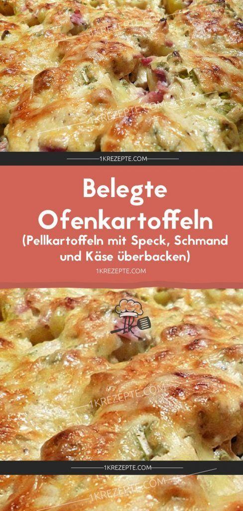 Servierte Ofenkartoffeln (Ofenkartoffeln mit Speck, Sauerrahm und Käse) …   – Der Food-Blog mit einfachen Rezepten, die gelingen