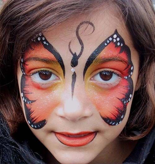 74 best images about face painting ideas on pinterest for Pretty designs to paint