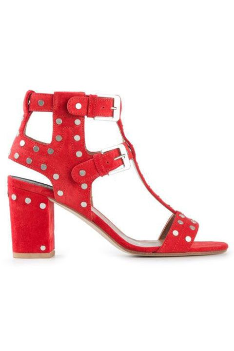 20 fashionable heels that will give any outfit a style boost.  Laurence Dacade Buckled Chunky Heel Sandals, $729; farfetch.com