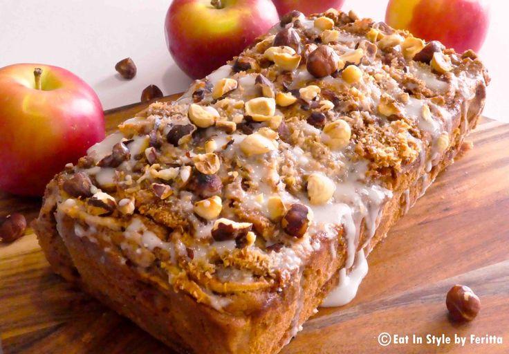 Spiced Apple & Cinnamon Spelt Cake.  Healthy never tasted so good!