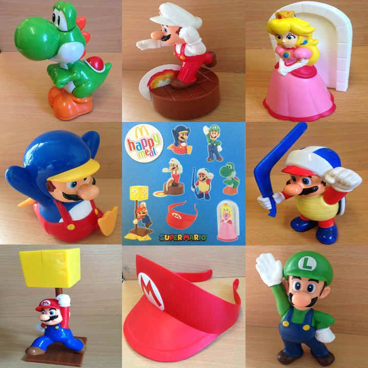 McDonalds Happy Meal Toy 2015 SUPER MARIO Team Characters - VARIOUS  | eBay