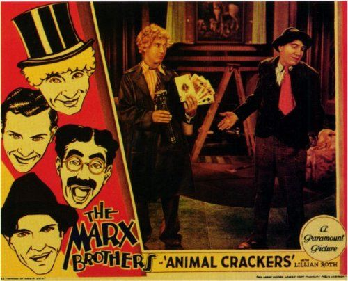 Animal Crackers - Movie Poster - 11 x 17 Add this spectacular poster to your collection today!. This poster measures approx. 11 x 17.. Brand new and expertly rolled and shipped.. This poster is from Animal Crackers (1930).  #Incline_Wholesale_Posters #Home