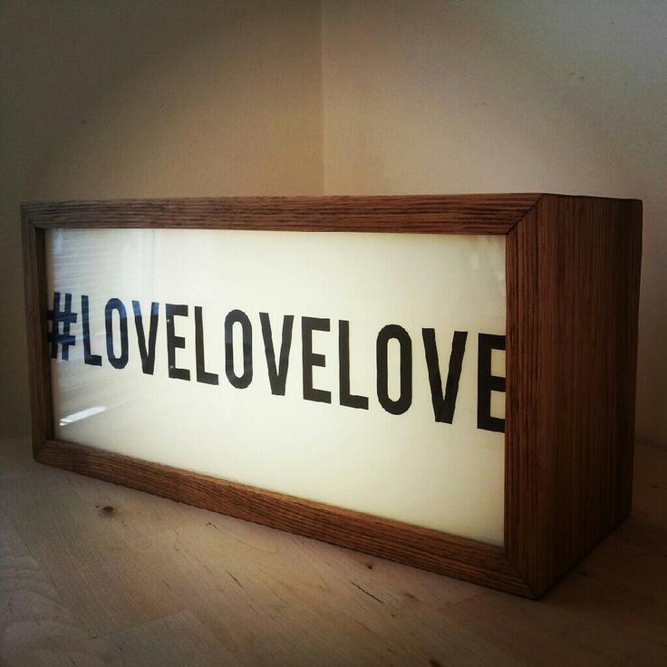 Studley & Petunia original lightbox aka light box #lovelovelove