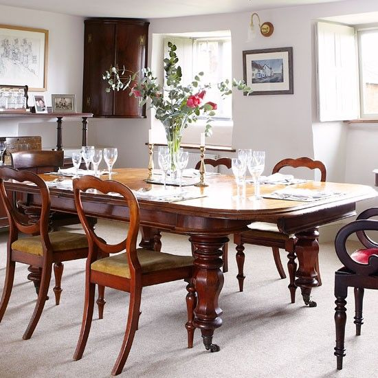 Dining Table Set Traditional