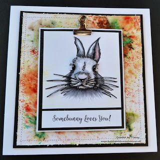 Hello everyone, It's Monday again... where did that weekend go?     Today i'm sharing a card I made a while ago but only just showing as...