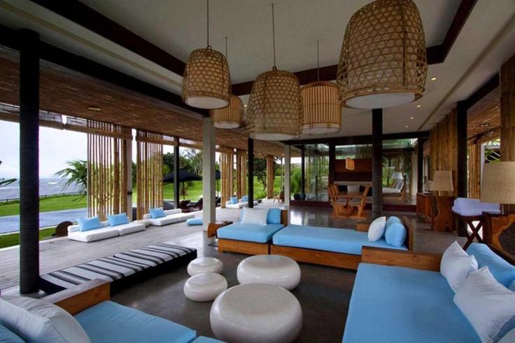 Home Interior, Romantic Sensation Of A Bali House Design: Pretty